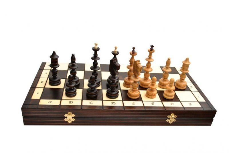 OLD POLISH CHESS SET