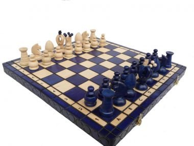 KING'S CHESS (L) BLUE