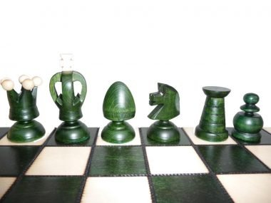 KING'S CHESS (L) GREEN