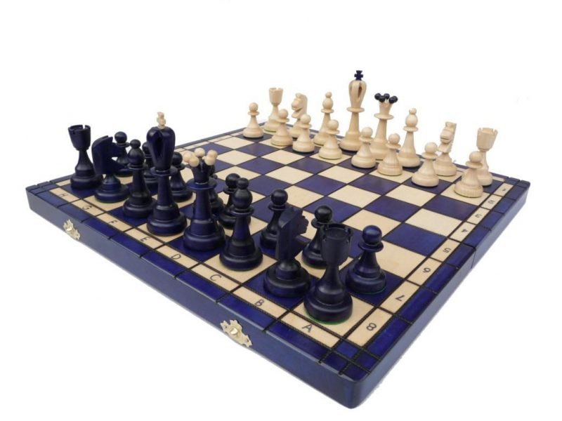 ACE CHESS SET BLUE